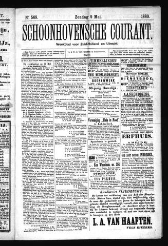 Schoonhovensche Courant 1880-05-09