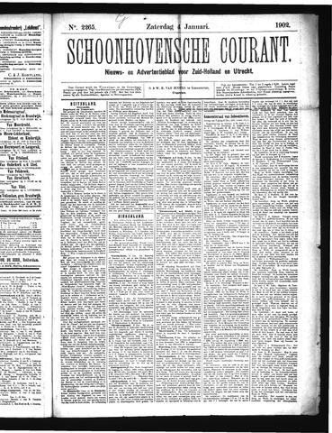 Schoonhovensche Courant 1902-01-04