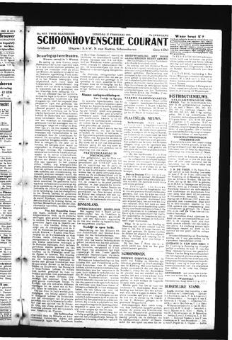 Schoonhovensche Courant 1945-02-27
