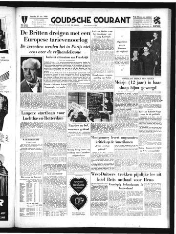 Goudsche Courant 1958-10-25