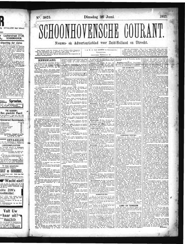 Schoonhovensche Courant 1917-06-26