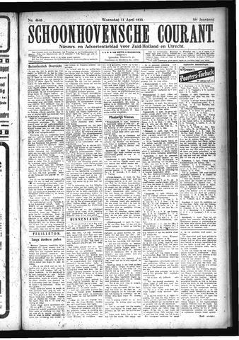 Schoonhovensche Courant 1923-04-11