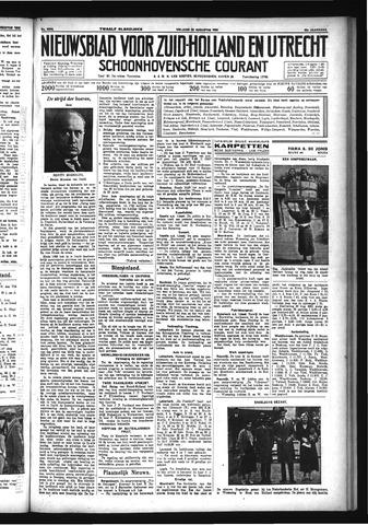 Schoonhovensche Courant 1933-08-25