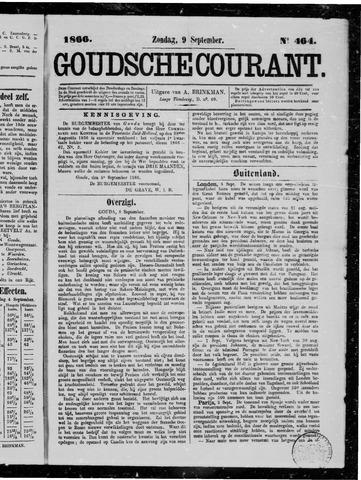 Goudsche Courant 1866-09-09