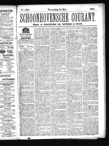 Schoonhovensche Courant 1895-05-22