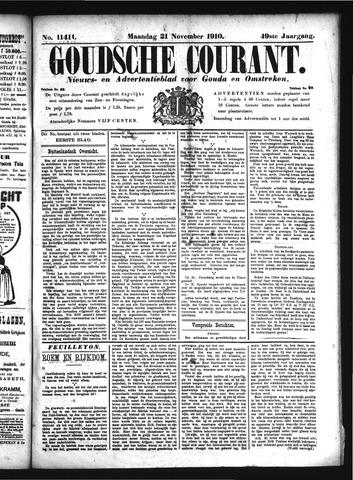 Goudsche Courant 1910-11-21
