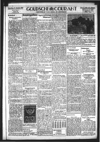 Goudsche Courant 1943-01-11