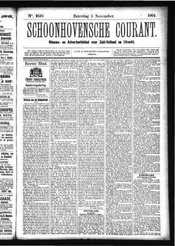 Schoonhovensche Courant 1904-11-05