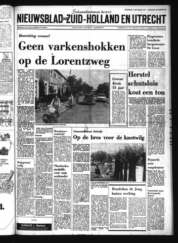 Schoonhovensche Courant 1977-09-14