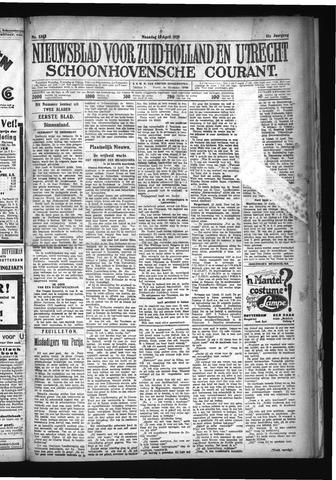 Schoonhovensche Courant 1929-04-15
