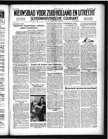 Schoonhovensche Courant 1951-07-09
