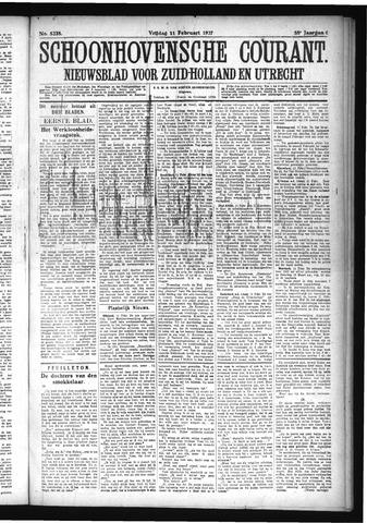 Schoonhovensche Courant 1927-02-11