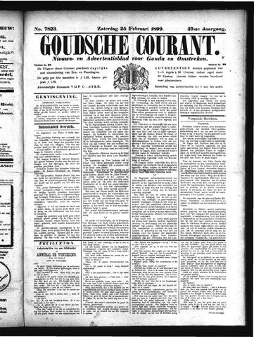 Goudsche Courant 1899-02-25