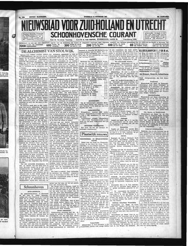 Schoonhovensche Courant 1937-11-24