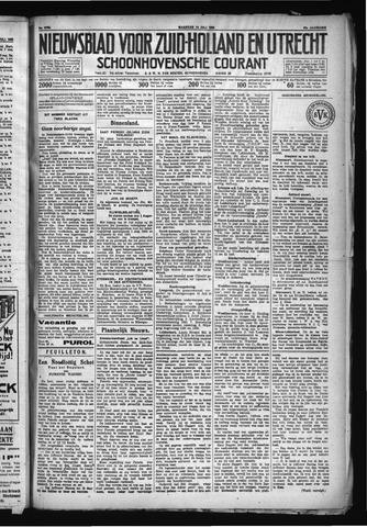 Schoonhovensche Courant 1930-07-14