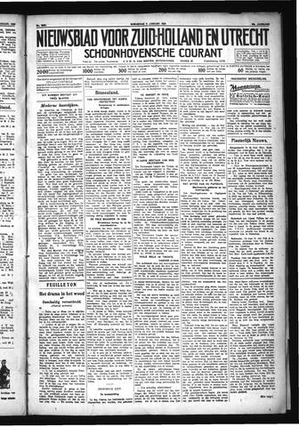 Schoonhovensche Courant 1930-01-08