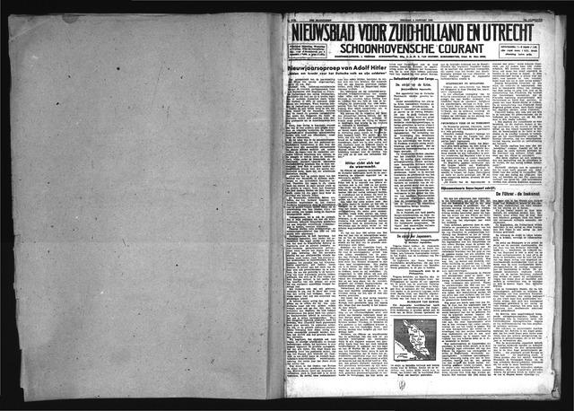 Schoonhovensche Courant 1942