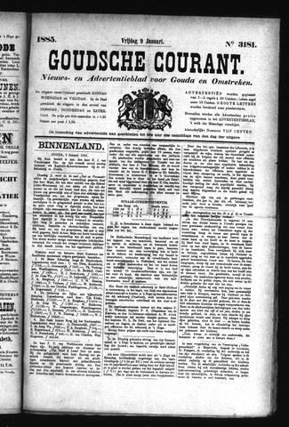 Goudsche Courant 1885-01-09