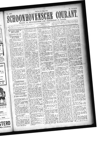 Schoonhovensche Courant 1923-06-15
