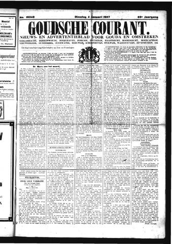 Goudsche Courant 1927-01-04