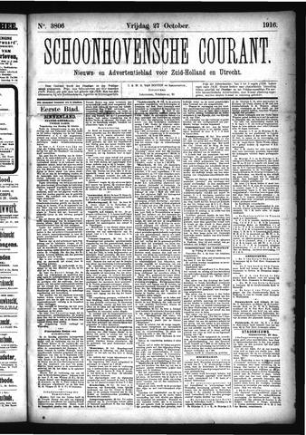 Schoonhovensche Courant 1916-10-27