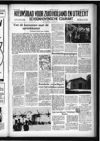 Schoonhovensche Courant 1958-07-21