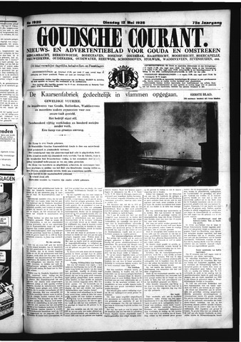Goudsche Courant 1936-05-12