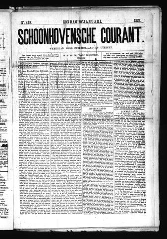 Schoonhovensche Courant 1878-01-20