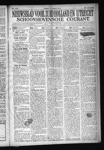 Schoonhovensche Courant 1928-01-13