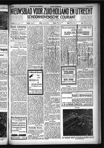 Schoonhovensche Courant 1932-10-07