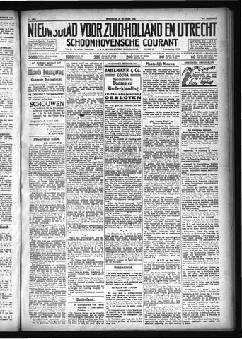 Schoonhovensche Courant 1929-10-30
