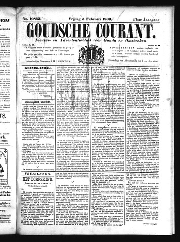 Goudsche Courant 1909-02-05