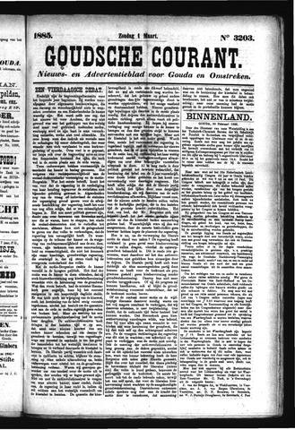 Goudsche Courant 1885-03-01