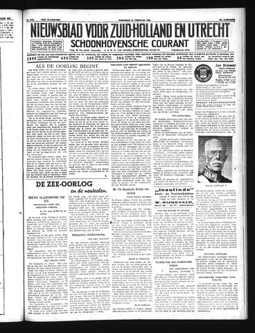 Schoonhovensche Courant 1940-02-21