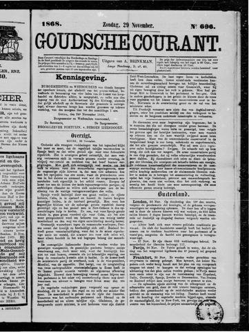 Goudsche Courant 1868-11-29