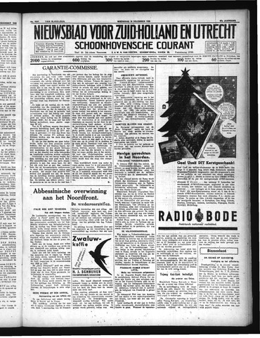 Schoonhovensche Courant 1935-12-18