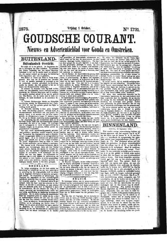 Goudsche Courant 1875-10-01