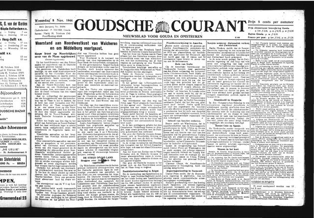 Goudsche Courant 1944-11-08