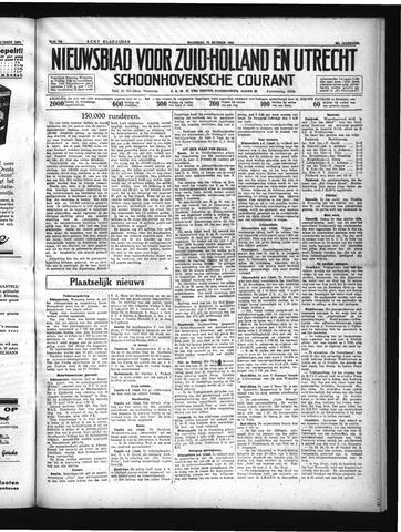Schoonhovensche Courant 1934-10-15