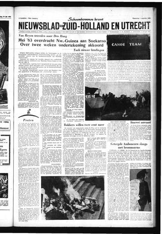 Schoonhovensche Courant 1962-08-01