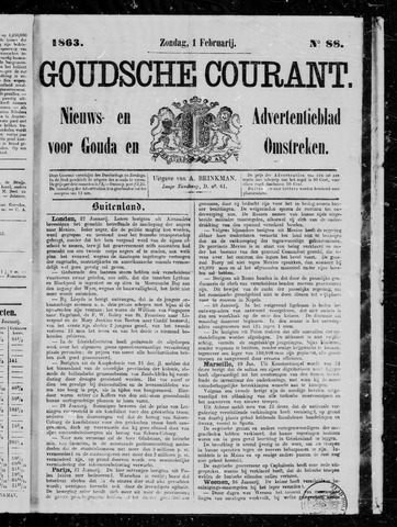 Goudsche Courant 1863-02-01