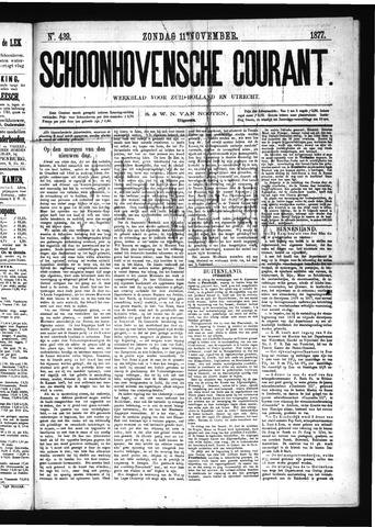 Schoonhovensche Courant 1877-11-11