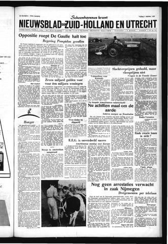 Schoonhovensche Courant 1962-10-05