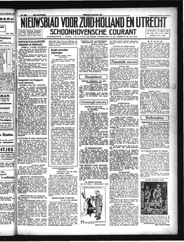 Schoonhovensche Courant 1942-01-30