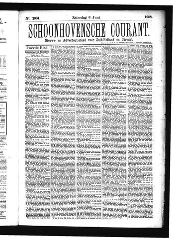 Schoonhovensche Courant 1908-06-06