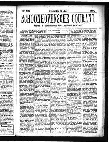 Schoonhovensche Courant 1899-05-31