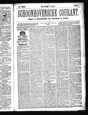 Schoonhovensche Courant 1900-04-07
