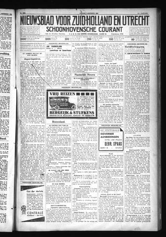 Schoonhovensche Courant 1930-11-07