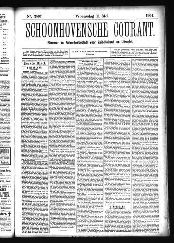 Schoonhovensche Courant 1904-05-11