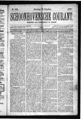 Schoonhovensche Courant 1879-10-12